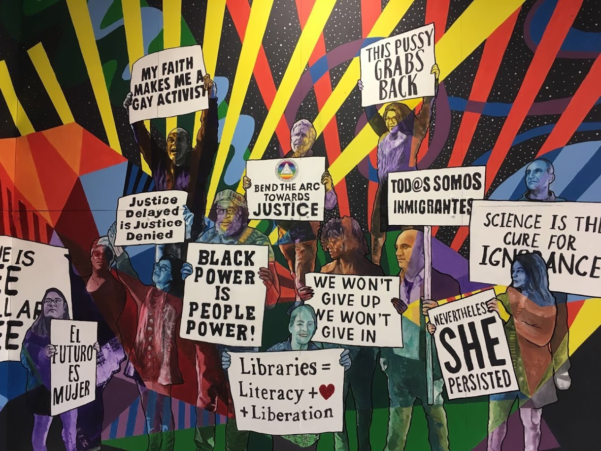 Rise2Change Get Invovled Mural at CSUMB 2019